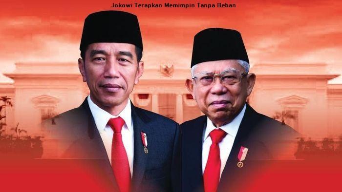 Jokowi Terapkan Memimpin Tanpa Beban